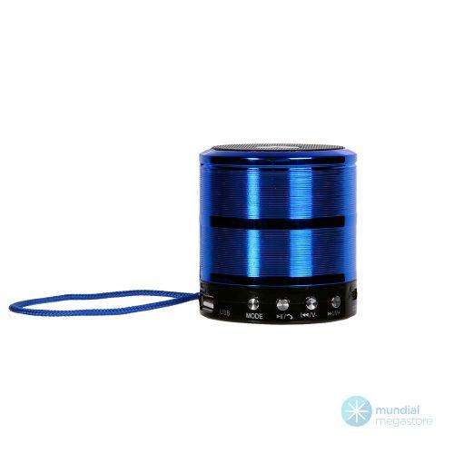 caixa de som mini bluetooth ws 887 azul 37383 2000 196065