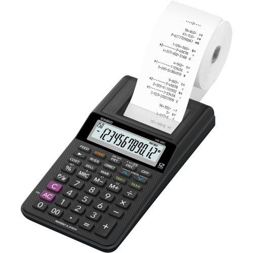 calculadora com bobina sensacional casio hr 8rc we b dc preta 12 digitos 45476 2000 193765