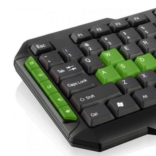 teclado gamer usb multimidia tc201 preto verde multilaser 37663 2000 201233