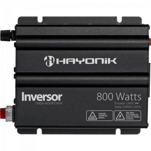 inversor 800w extraordinario escuro haionik modificada cinza 12vdc 220v onda 46400 2000 195564