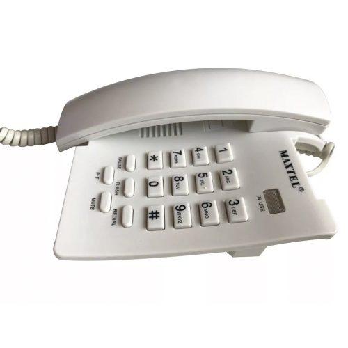 telefone de mesa maxtel 3037 branco 37119 2000 197041