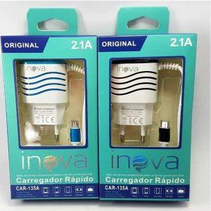 carregador rapido de celular v8 tomada inova g5168 51 preto 46777 2000 199219