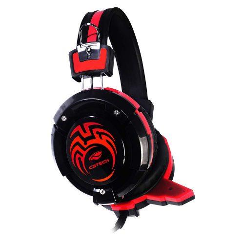 fone de ouvido com microfone gamer flycatcher ph g10bk c3 tech 47597 2000 198104