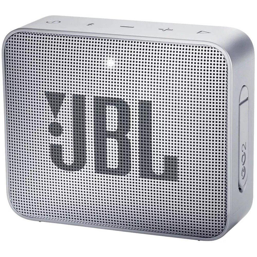 caixa de som bluetooth jbl go 2 cinza 48011 2000 199593
