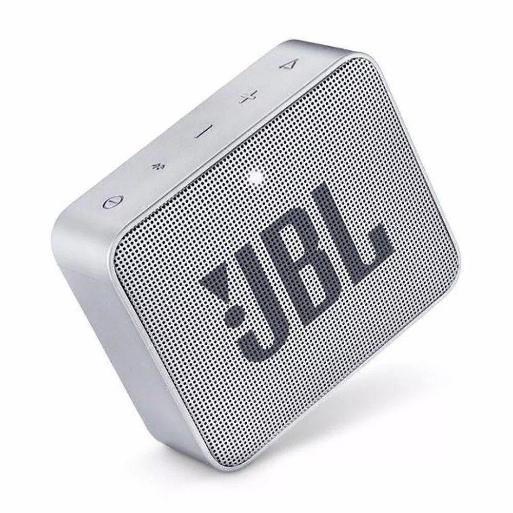 caixa de som bluetooth jbl go 2 cinza 48011 2000 199594