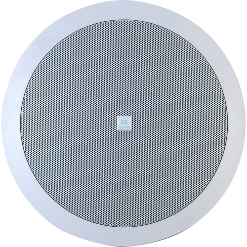 arandela 6 coaxial de excelente qualidade jbl 6co2r branca 25w rms ambientare 42639 2000 182097