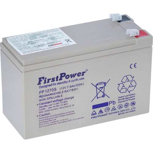 bateria selada desfrutando 1 fp1270s firstpower 48134 2000 198766