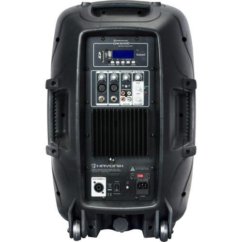caixa acustica notavel hayonik cpa 12400 ativa 400w 48445 2000 198158