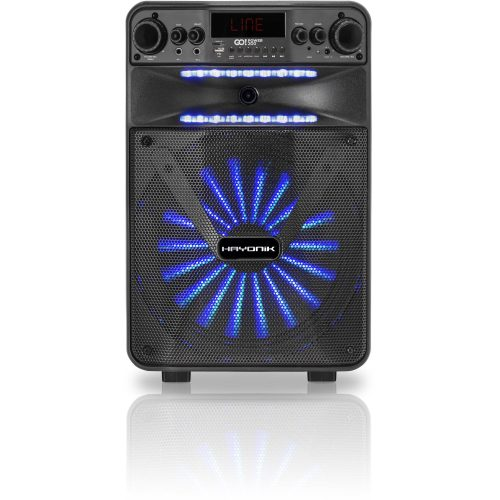 caixa multiuso oferta quente 200 hayonik 100w gopower portatil bluetooth microsd usb fm 48431 2000 198197