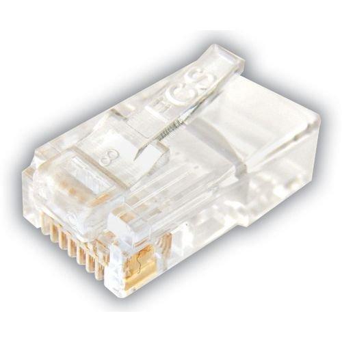 conector macho extra unidades sohoplus pacote com 100 cat5e u utp 40029 2000 187852