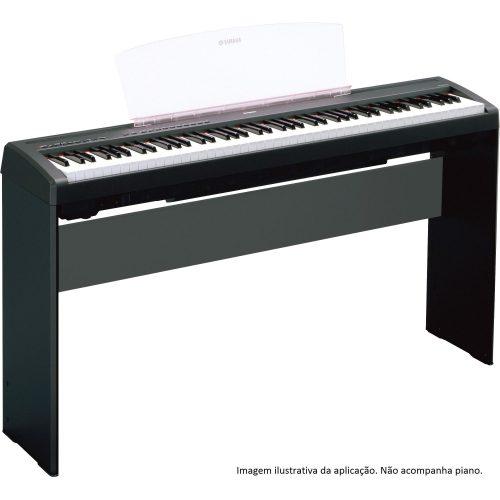 estante para oferta limitada yamaha piano l85 preta 43017 2000 180961