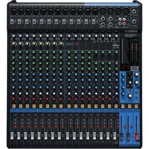 mesa de som estreia mg20xu yamaha analogica 20 canais 41246 2000 185384