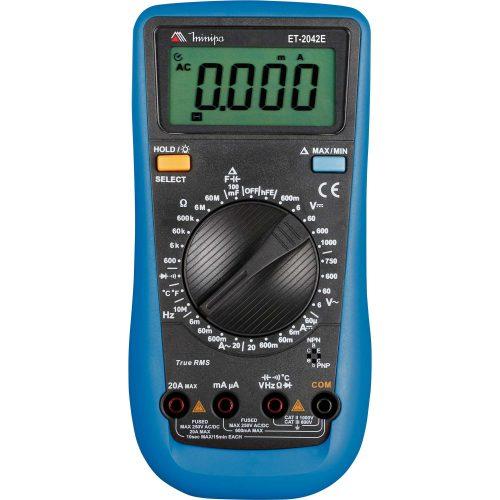 multimetro digital disponivel somente aqui minipa et 2042e cinza azul 43203 2000 180495