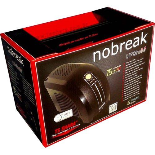 nobreak 600va sedutor ts shara bivolt preto ups mini 42868 2000 181397