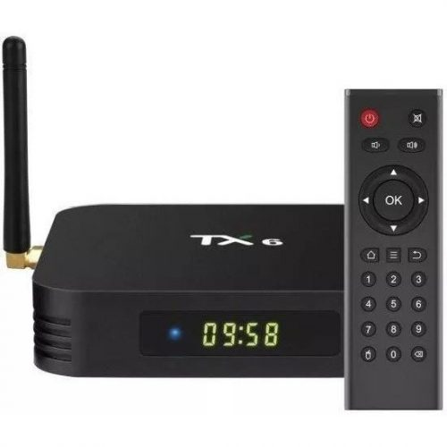receptor google tv box 4gb 32m 4k tx6 com antena ultra hd 48670 2000 201496
