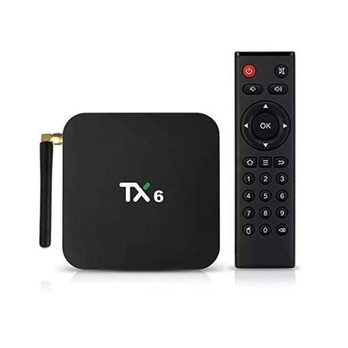receptor google tv box 4gb 32m 4k tx6 com antena ultra hd 48670 2000 201499