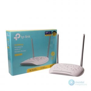wireless roteador modem adsl tp link w8961nd 300mbps 21077 2000 196132