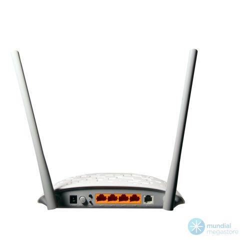 wireless roteador modem adsl tp link w8961nd 300mbps 21077 2000 196135