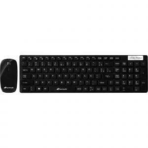 teclado e mouse ultima ofertas fortrek sem fio wcf 102 45461 2000 193760
