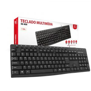teclado usb multimidia kb m30bk c3tech 47053 2000 199652