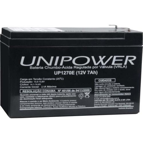bateria selada oferta limitada 62636 unipower rer up1270 12v 7a 44027 2000 191939