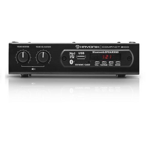 amplificador 20w com bonita hayonik 200 preto bluetooth compact 41707 2000 184221