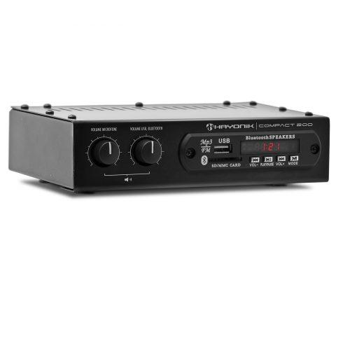amplificador 20w com bonita hayonik 200 preto bluetooth compact 41707 2000 184223