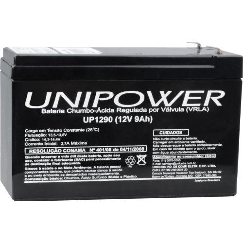 bateria selada desfrutando unipower 12v 9a up1290 43225 2000 180462