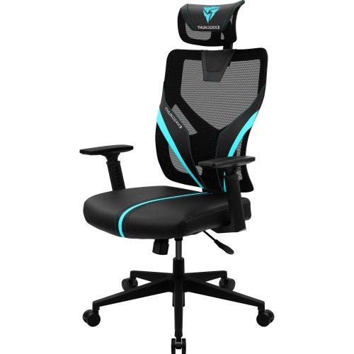 cadeira ergonomic sedutor thunderx3 yama1 preta cyan 48967 2000 199805