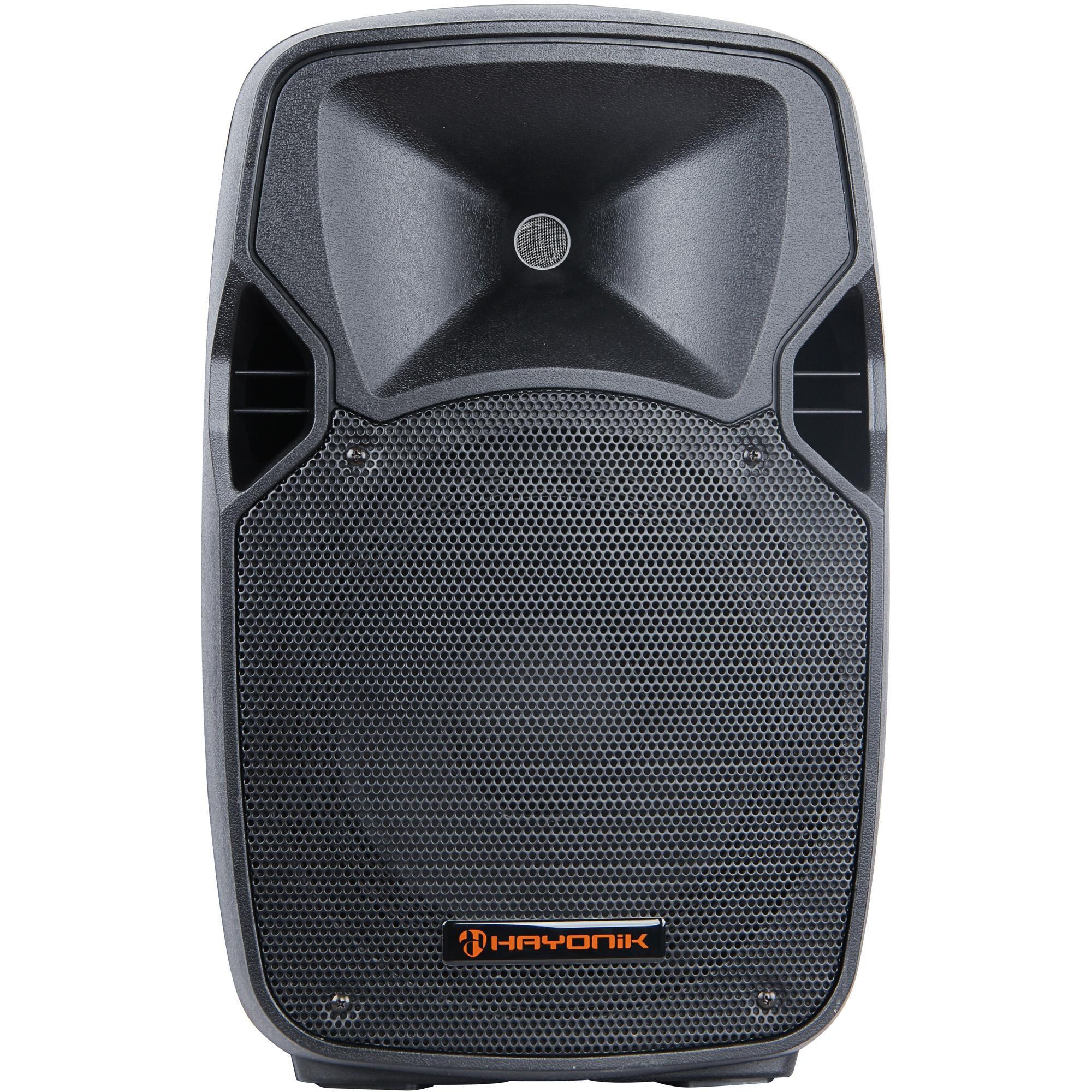 caixa acustica apenas 10 disponiveis hayonik cpa 10200 ativa 160w 49152 2000 199695