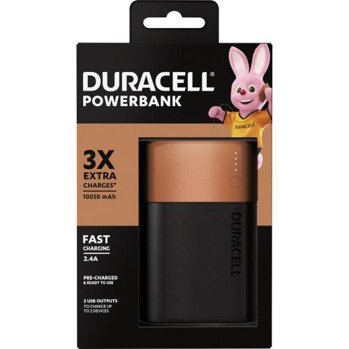 carregador portatil extra 10050mah duracell 48863 2000 199867