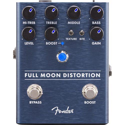 pedal para guitarra bonita distortion fender full moon 48193 2000 198624