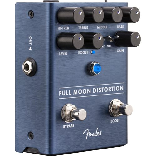 pedal para guitarra bonita distortion fender full moon 48193 2000 198626