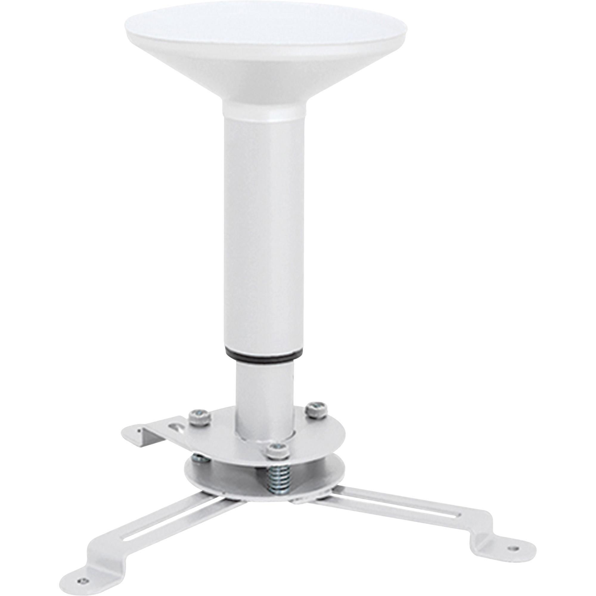 suporte de teto provado branco multivisao 180 300mm multi proj p pr para projetor 48974 2000 200023