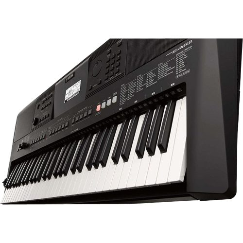 teclado musical apenas 3 sobrando preto yamaha psr e463 61teclas c fonte 46847 2000 196626