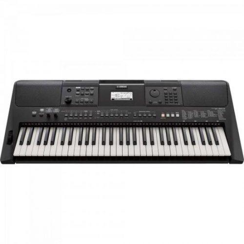 teclado musical apenas 3 sobrando preto yamaha psr e463 61teclas c fonte 46847 2000 196628