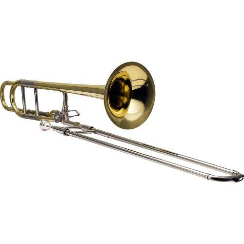 trombone de vara oportunidade harmonics hsl 801l laqueado tenor bb f 40936 2000 186031