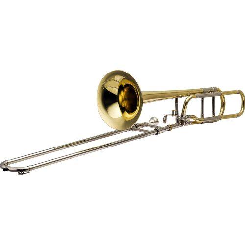 trombone de vara oportunidade harmonics hsl 801l laqueado tenor bb f 40936 2000 186032