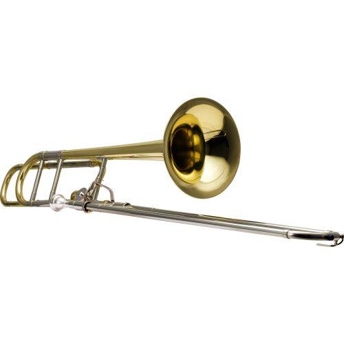 trombone de vara oportunidade harmonics hsl 801l laqueado tenor bb f 40936 2000 186033