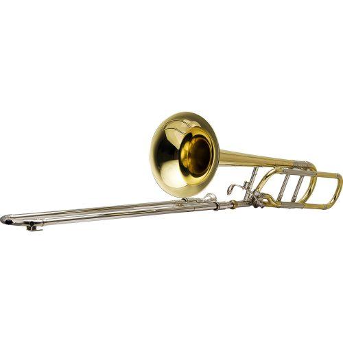 trombone de vara oportunidade harmonics hsl 801l laqueado tenor bb f 40936 2000 186034