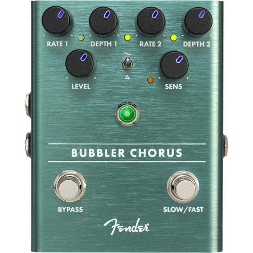 pedal analogico provado fender bubbler chorus 49321 2000 200127