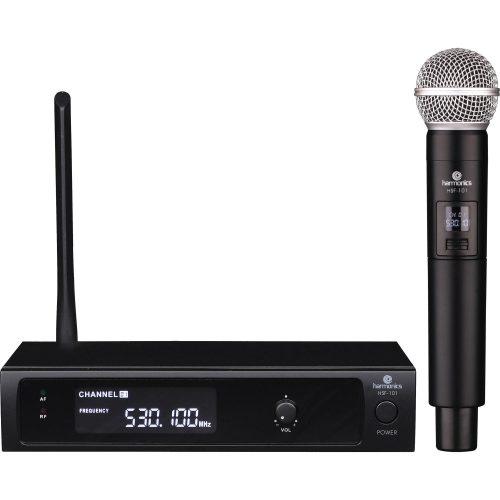 microfone sem fio compartilhe hsf 101 harmonics de mao uhf 49106 2000 199971