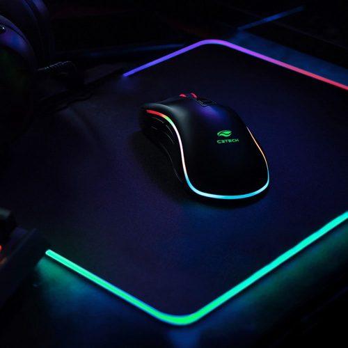 mouse pad gamer mp g2100bk c3tech 48826 2000 199650