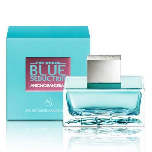 perfume antonio banderas blue seduction feminino edt 80ml 5865 2000 199397