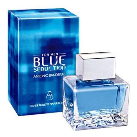 perfume antonio banderas blue seduction masculino edt 100 ml 31358 2000 141701