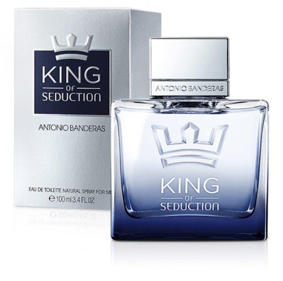 perfume antonio banderas king of seduction men masculino edt 100 ml 45921 2000 199398