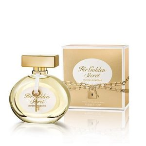 perfume antonio banderas the secret golden feminino edt 80 ml 35748 2000 176165
