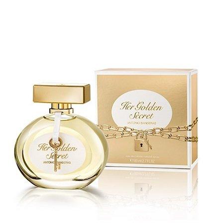 perfume antonio banderas the secret golden feminino edt 80 ml 35748 2000 176165