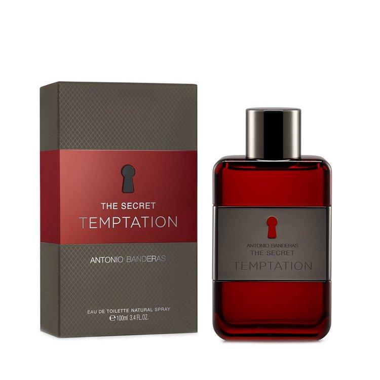 perfume antonio banderas the secret temptation masculino edt 100 ml 45109 2000 199402