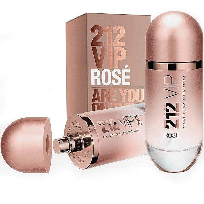 perfume carolina herrera 212 vip rose feminino edp 80 ml 24692 2000 91573